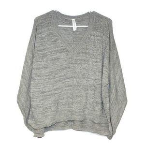Aeropostale Heather Grey Knit Sweater, Size XL